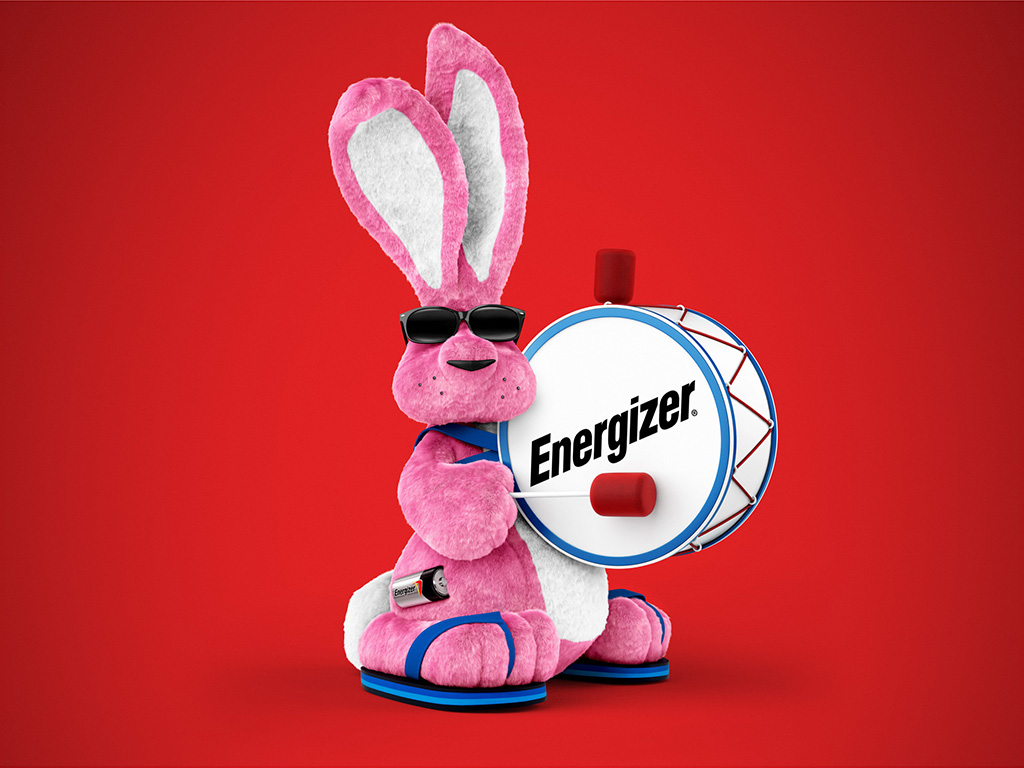 Energizer bunny cgi project